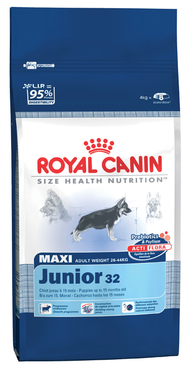 royal canin maxi junior dog food 15kg special offer 48 or 2 for 90. Black Bedroom Furniture Sets. Home Design Ideas