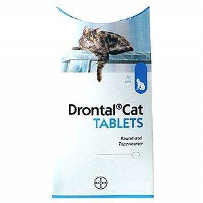 Drontal Cat Worming Tablets 2 Pk