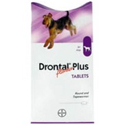 Drontal Plus Flavour Dog Worming Tablets 2 pack